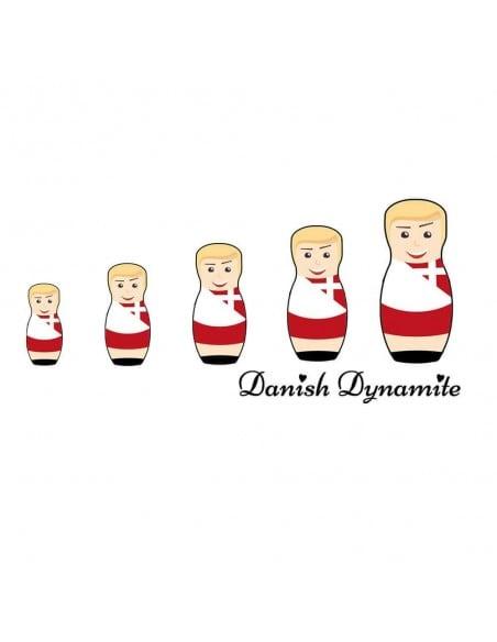 Danish Dynamite Dänemark Danmark Matrjoschkas worldcup T-Shirt WM Shirts 18,90 €