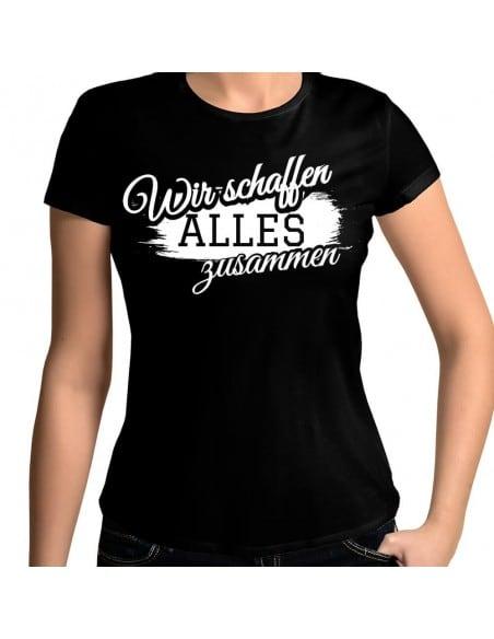Wir schaffen alles zusammen ALKOHOL T-Shirt Paar-Shirts 18,90 €