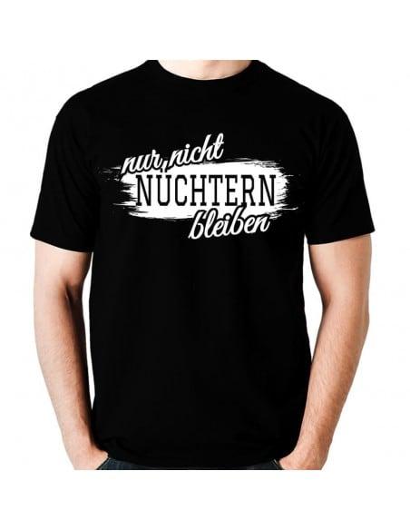 Nur nicht nüchtern bleiben ALKOHOL T-Shirt Paar-Shirts 18,90 €