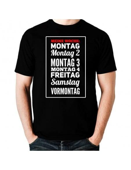 Meine Woche Fun T-Shirt Hoodie Schule, Studium & Beruf 18,90 €