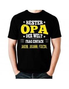 Bester Opa der Welt -Frag einfach T-Shirt Hoodie Baby & Familie  18,90 €