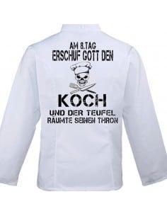 AM 8. TAG ERSCHUF GOTT Kochjacke Zubehör & Geschenke 59,90 €