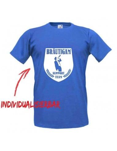 Bräutigam Support Team T-Shirt JGA 16,50 €