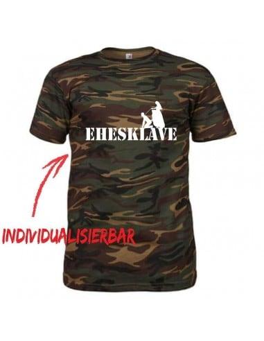 Ehesklave camouflage T-Shirt JGA 21,00 €