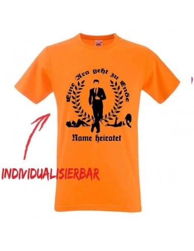 Eine Ära geht zur Ende T-Shirt JGA 16,50 €