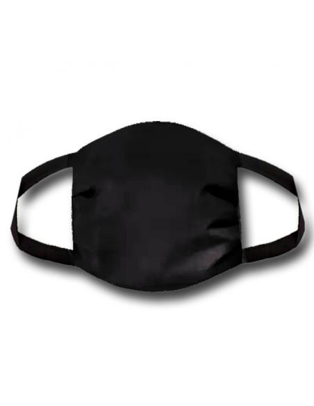 Gesichtsmaske schwarz inkl. Logostick