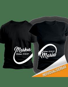 Unendlichkeit T-Shirts für 2 / Paar-Shirts Paar-Shirts 30,00 €