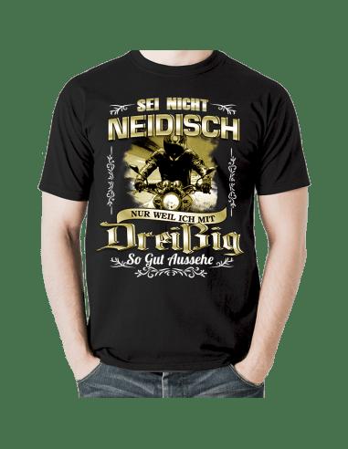 SEI NICHT NEIDISCH! Dreißig Geburtstag T-Shirt Hoodie 30 Jahre Goldgelb Geburtstag 18,90 €