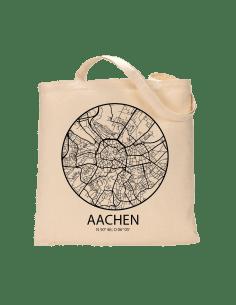 """Jutebeutel nature \\""""Aachen Sky Eye Kontur\\"""" Zubehör & Geschenke 9,99 €"""