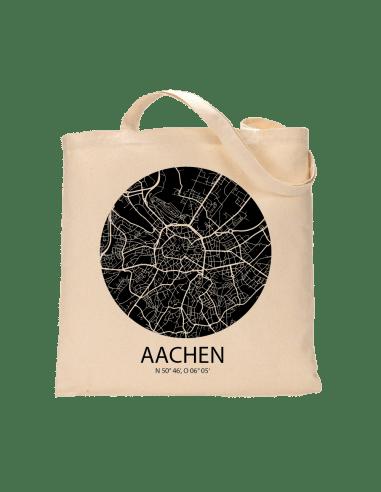 """Jutebeutel nature \\""""Aachen Sky Eye negativ\\"""" Zubehör & Geschenke 9,99 €"""