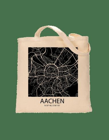 """Jutebeutel nature \\""""Aachen Sky Block negativ \\"""" Zubehör & Geschenke 9,99 €"""