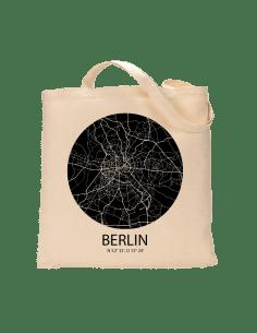 """Jutebeutel nature \\""""Berlin Sky Eye negativ \\"""" Zubehör & Geschenke 9,99 €"""