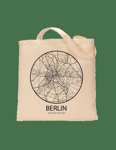 """Jutebeutel nature \\""""Berlin Sky Eye kontur \\"""" Zubehör & Geschenke 9,99 €"""