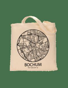"""Jutebeutel nature \\""""Bochum Sky Eye Kontur\\"""" Zubehör & Geschenke 9,99 €"""