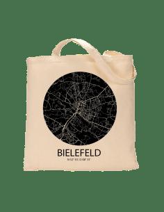 """Jutebeutel nature \\""""Bielefeld Sky Eye negativ\\"""" Zubehör & Geschenke 9,99 €"""