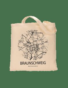 """Jutebeutel nature \\""""Braunschweig Sky Eye\\"""" Zubehör & Geschenke 9,99 €"""