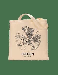 """Jutebeutel nature \\""""Bremen Sky Eye\\"""" Zubehör & Geschenke 9,99 €"""