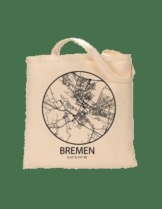 """Jutebeutel nature \\""""Bremen Sky Eye mit Kontur\\"""" Zubehör & Geschenke 9,99 €"""
