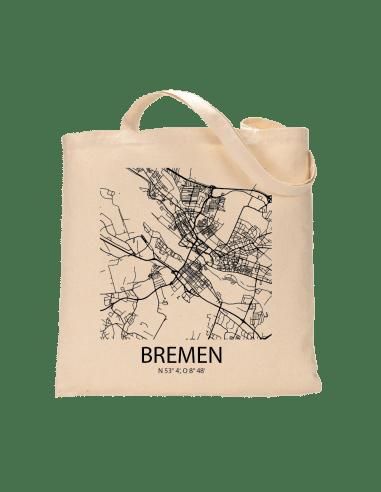 """Jutebeutel nature \\""""Bremen Sky Block\\"""" Zubehör & Geschenke 9,99 €"""