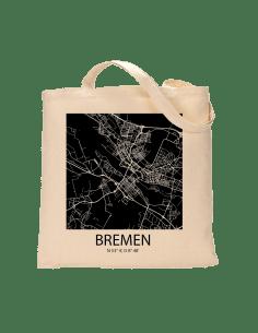 """Jutebeutel nature \\""""Bremen Sky Block negativ\\"""" Zubehör & Geschenke 9,99 €"""