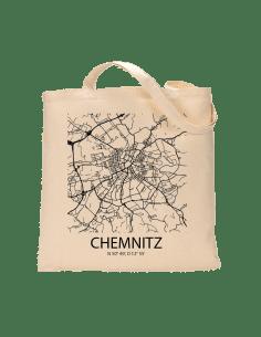 """Jutebeutel nature \\""""Chemnitz Sky Block\\"""" Zubehör & Geschenke 9,99 €"""