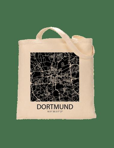 """Jutebeutel nature \\""""Dortmund Sky Block negativ\\"""" Zubehör & Geschenke 9,99 €"""