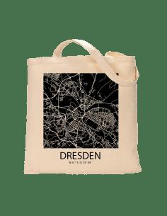 """Jutebeutel nature \\""""Dresden Sky Block negativ\\"""" Zubehör & Geschenke 9,99 €"""