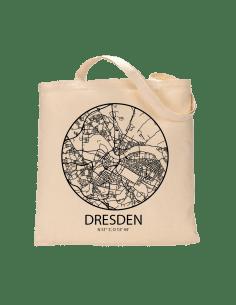"""Jutebeutel nature \\""""Dresden Sky Eye mit Kontur\\"""" Zubehör & Geschenke 9,99 €"""