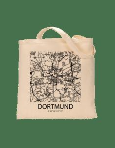 """Jutebeutel nature \\""""Dortmund Sky Block\\"""" Zubehör & Geschenke 9,99 €"""