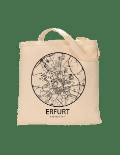 """Jutebeutel nature \\""""Erfurt Sky Eye Kontur\\"""" Zubehör & Geschenke 9,99 €"""