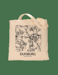 "Jutebeutel nature \\""Duisburg Sky Block\\"" Zubehör & Geschenke 9,99 €"