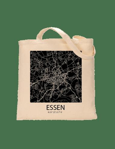 """Jutebeutel nature \\""""Essen Sky Block negativ\\"""" Zubehör & Geschenke 9,99 €"""