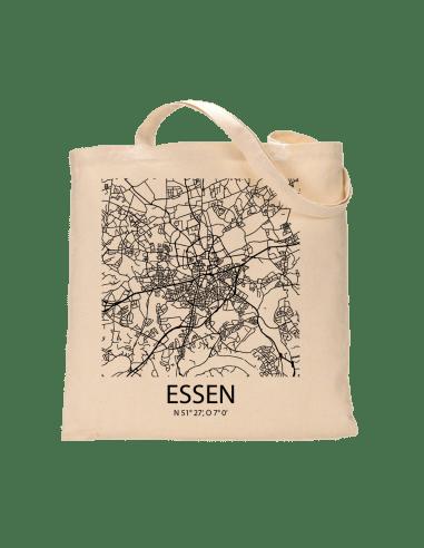 """Jutebeutel nature \\""""Essen Sky Block\\"""" Zubehör & Geschenke 9,99 €"""