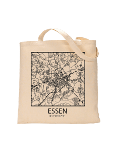 """Jutebeutel nature \\""""Essen Sky Block Kontur\\"""" Zubehör & Geschenke 9,99 €"""