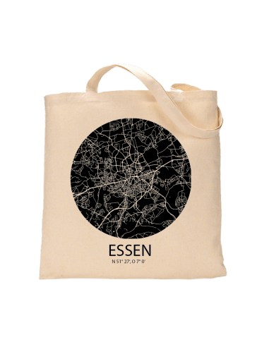 """Jutebeutel nature \\""""Essen Sky Eye negativ\\"""" Zubehör & Geschenke 9,99 €"""