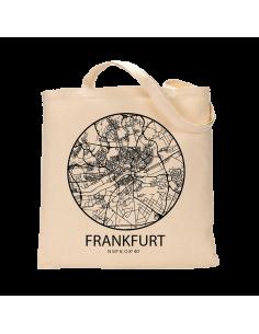"""Jutebeutel nature \\""""Frankfurt Sky Eye Kontur\\"""" Zubehör & Geschenke 9,99 €"""