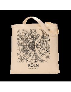 """Jutebeutel nature \\""""Köln Sky Block\\"""" Zubehör & Geschenke 9,99 €"""