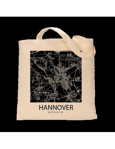 """Jutebeutel nature \\""""Hannover Sky Block negativ\\"""" Zubehör & Geschenke 9,99 €"""