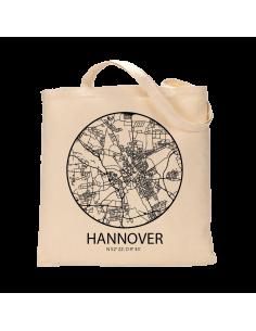 """Jutebeutel nature \\""""Hannover Sky Eye Kontur\\"""" Zubehör & Geschenke 9,99 €"""