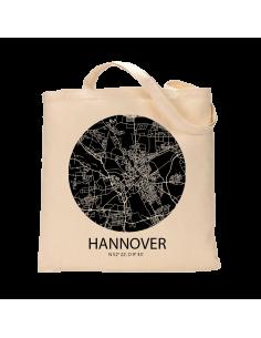 """Jutebeutel nature \\""""Hannover Sky Eye negativ\\"""" Zubehör & Geschenke 9,99 €"""