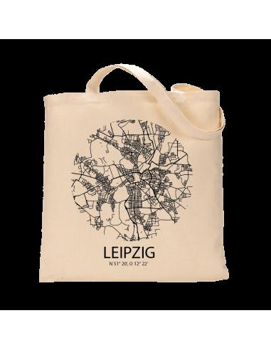 """Jutebeutel nature \\""""Leipzig Sky Eye\\"""" Zubehör & Geschenke 9,99 €"""