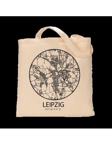 """Jutebeutel nature \\""""Leipzig Sky Eye Kontur\\"""" Zubehör & Geschenke 9,99 €"""