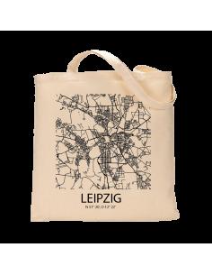 """Jutebeutel nature \\""""Leipzig Sky Block\\"""" Zubehör & Geschenke 9,99 €"""