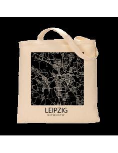 """Jutebeutel nature \\""""Leipzig Sky Block negativ\\"""" Zubehör & Geschenke 9,99 €"""