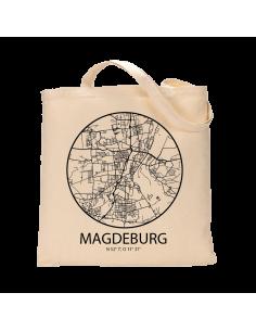 """Jutebeutel nature \\""""Magdeburg Sky Eye Kontur\\"""" Zubehör & Geschenke 9,99 €"""