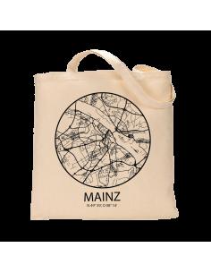 """Jutebeutel nature \\""""Mainz Sky Eye Kontur\\"""" Zubehör & Geschenke 9,99 €"""