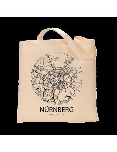 "Jutebeutel nature \\""Nürnberg Sky Eye\\"" Zubehör & Geschenke 9,99 €"