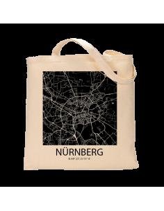 "Jutebeutel nature \\""Nürnberg Sky Block negativ\\"" Zubehör & Geschenke 9,99 €"