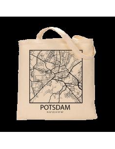 "Jutebeutel nature \\""Potsdam Sky Block Kontur\\"" Zubehör & Geschenke 9,99 €"