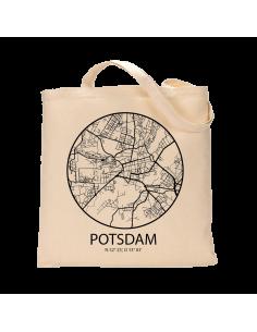 """Jutebeutel nature \\""""Potsdam Sky Eye Kontur\\"""" Zubehör & Geschenke 9,99 €"""